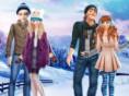 Schneepaare: Winterzeit - style Elsa und Anna für ein Winterdate Schneepaare: Winterzeit ist ei