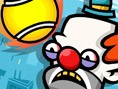 Tennisball gegen Clowns - mach sie alle platt! Tennisball gegen Clowns ist ein lustiges Geschicklich