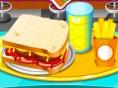Sandwich-Restaurant - belege den Toast so schnell du kannst! Sandwich-Restaurant ist ein herausforde