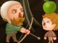 Meisterschütze - treffe die Früchte! Meisterschütze ist ein unterhaltsames Geschickli