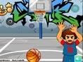 Straßen- Basketball