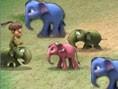 Elefanten- Schieben