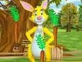 Kaninchen Gemüseernte