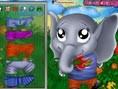 Baby Elefant Der kleine Baby Elefant braucht deine Hilfe! Such ihm die schönsten Anziehsachen raus,