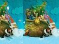 Ein klassisches Fehler Suchspiel mit weihnachtlichen Bildern. Hier ist Dein Adlerauge gefragt. Steue