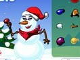 Wer sagt denn, dass man sich die Finger abfrieren muss, um einen schönen Schneemann zu bauen? Das ge