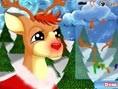 Damit Rudolf sich nicht erkältet und zusammen mit dem Weihnachtsmann Dein Geschenk bringen kann, mus
