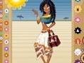 Ägypterin anziehen