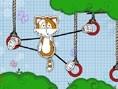 Kletternde Katzen