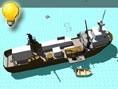 Flucht vom Schiff