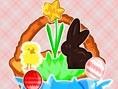 Osterkorb gestalten Frohe Ostern! Dieser Korb muss bis Ostern noch schön geschmückt werden! Fülle ih