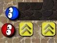Biff und Baff müssen in jeder der 6 Welten in jeweils 5 Leveln den Ausgang finden.Du musst ihn