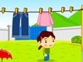 Çamaşırları Asmaca