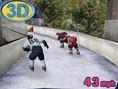 Eisbahn Rennen