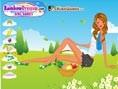 Picknick Mädchen