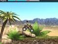 Wüstenmotorrad
