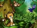 Das ganze Alphabet hat sich im Dschungel versteckt. Und Du musst alle Buchstaben wieder finden. Steu