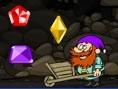 Hol Dir alle Edelsteine aus der Mine und fange sie in Deiner Schubkarre. Steuerung: Mit der Maus bes
