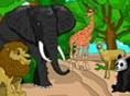 Tierpark ausmalen! Tiere ohne Farbe sehen doch nicht schön aus, oder? Also ist es dein Job, den Tier