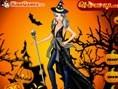 Halloween Pumpkins Girl