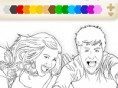 HS Musical coloring 2