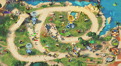 Day D Tower Rush, tower defense spiele, actionspiele spielen