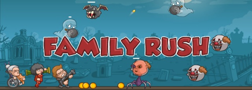 Family Rush, Actionspiele spielen