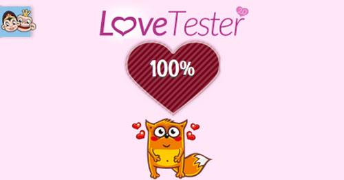 spiele love tester