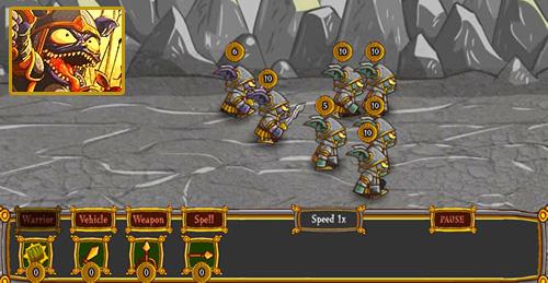 Canavar Kasabası Koruma Oyunu
