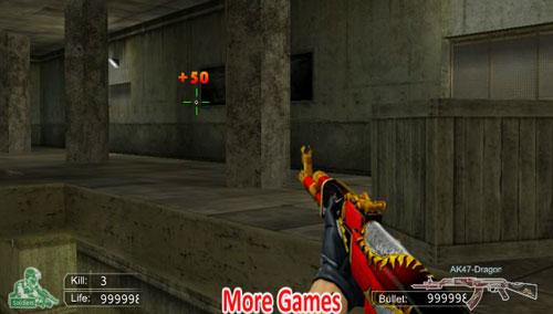 Çapraz Ateş AK47 Oyunu
