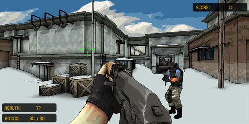 Counter Strike Flash 3 Oyunu