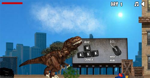 Dinazor T-Rex Oyunu