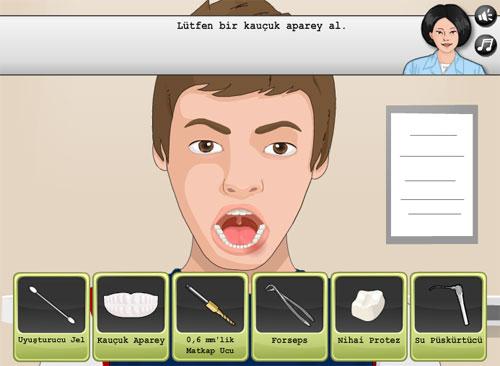 Diş İmplantı Ameliyatı Oyunu