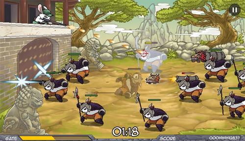 Panda Tavşan Savaşı Oyunu