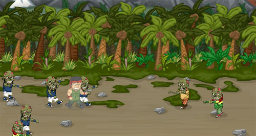 Rambo Zombilere Karşı Oyunu