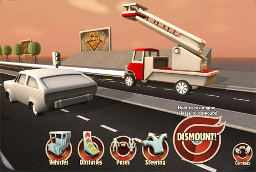 Sakat Sürüş Araba Parçalama Oyunu 3D