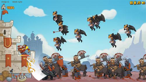 Sedonya Okçuları Kale Savunma Oyunu