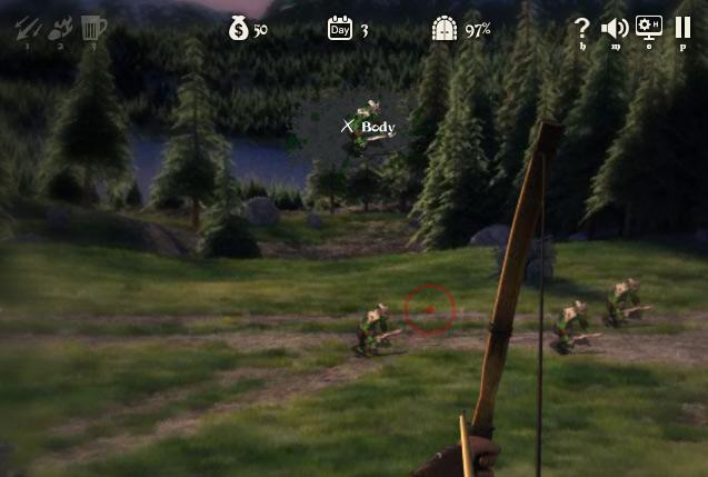Toplu Kuşatma Okçu Oyunu