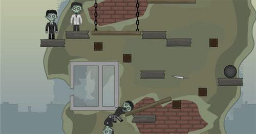 Zombileri Düşür Oyunu Oyna