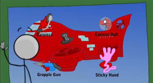 Çubuk Adam: Uçağa Sızma Operasyonu