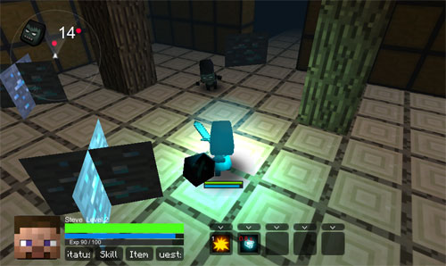 Zombiecraft Minecraft Oyunu
