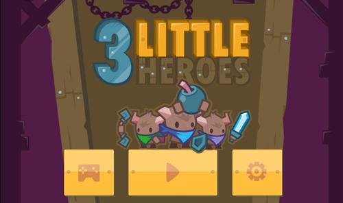 3 little heroes, actionspiele spielen, spielaffe
