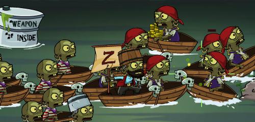 Zombi Korsanlar Oyunu