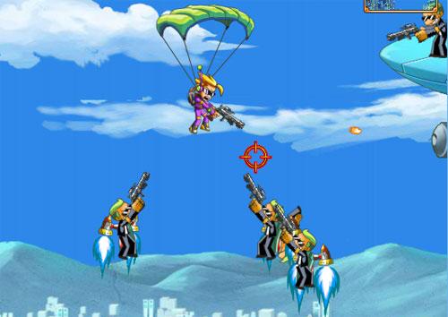 Paraşütlü Askerler 2 Oyunu