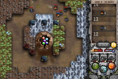 Cursed Tower, don't touch my gems, gratis actionspiele spielen