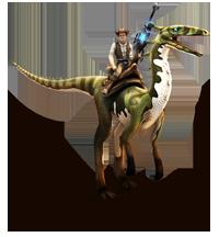 Dino Storm Kovboy 3D