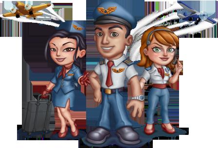 Skyrama Online Havaalanı İşletme Oyunu